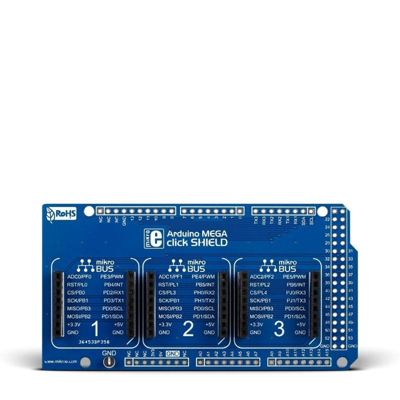 Arduino MEGA click shield
