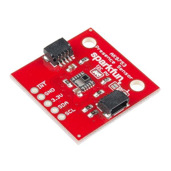 SparkFun Human Presence Sensor Breakout - AK9753 (Qwiic)