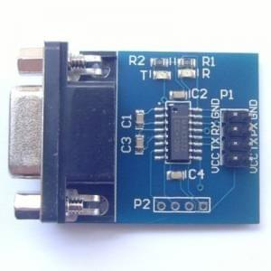 MAX3232 serial RS232 turn TTL module with transceiver module 【manufacturers