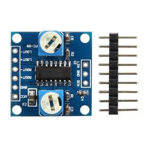 PAM8406 digital power amplifier board With volume potentiometer Stereo noiseless