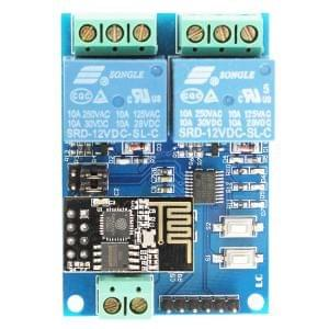 LC 12V 2-Channel WIFI Relay Module