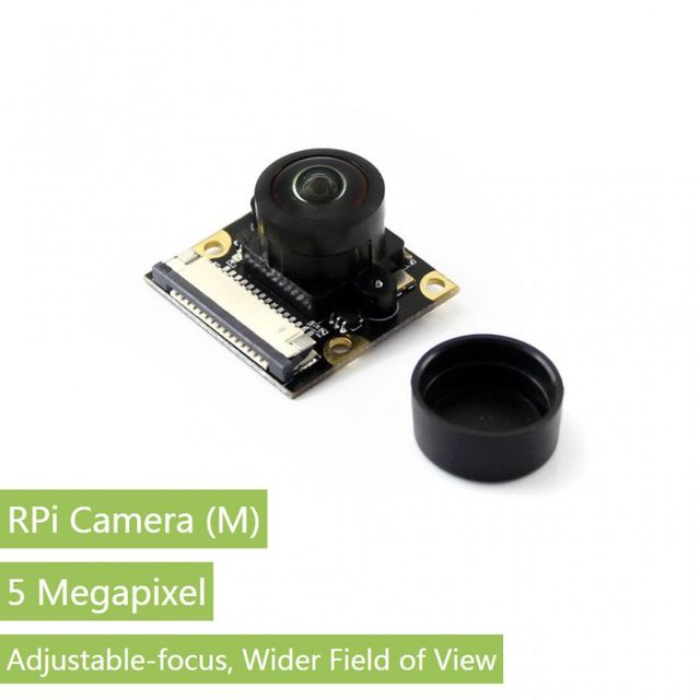 RPi Camera (M), Fisheye Lens