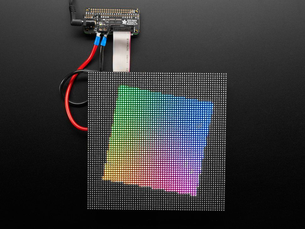 Adafruit RGB Matrix Bonnet for Raspberry Pi