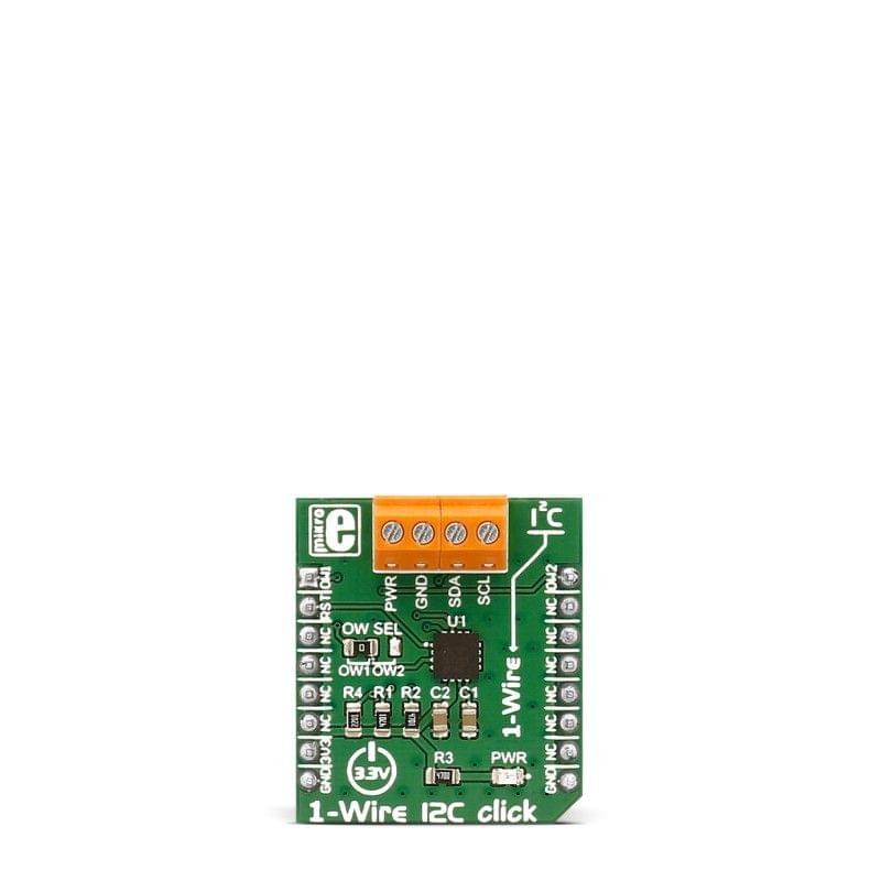 1-Wire I2C click