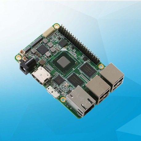 UP board 2GB + 32 GB eMMC memory