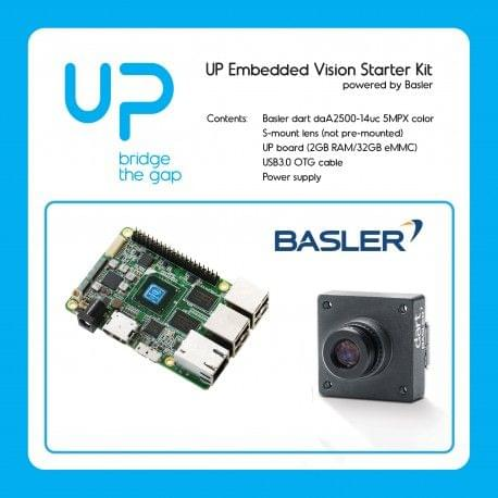 UP Embedded Vision Starter Kit