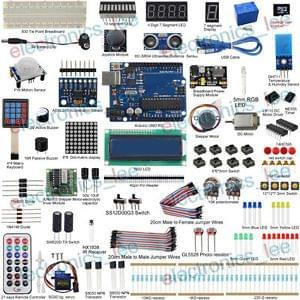 UCTRONICS Ultimate Kit for Arduino UNO R3 Servo Sensor LCD1602 37 project