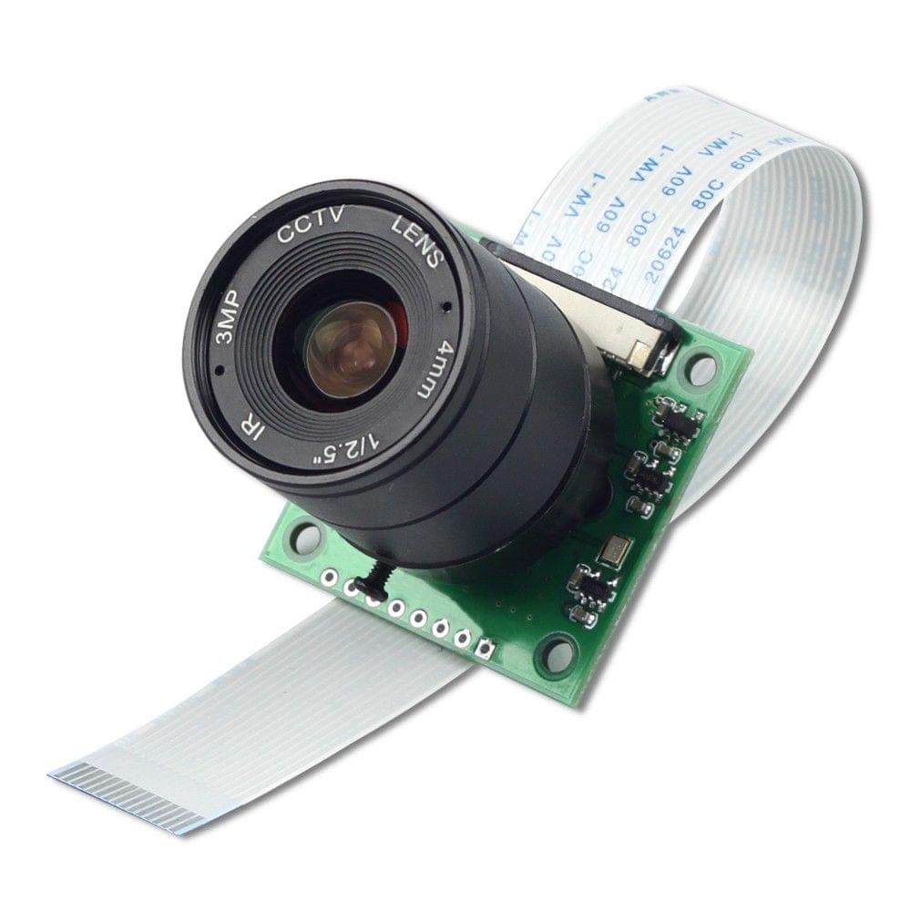 Arducam 8 MP Sony IMX219 camera module with CS lens 2718 for Raspberry Pi