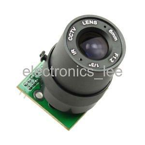 2 Mega pixel Camera Module MT9D111 JPEG Out + HQ lens