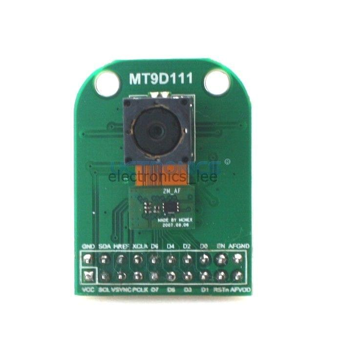 2Megapixel MT9D111 Auto Focus lens camera flex module with Adpater board