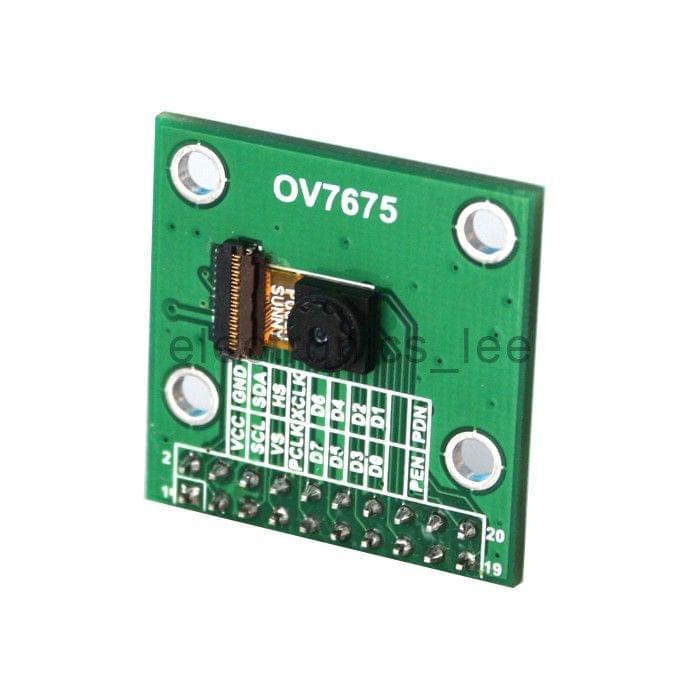 640X480 0.3 MP Mega Pixel Lens OV7675 CMOS Camera Module with Adapter Board