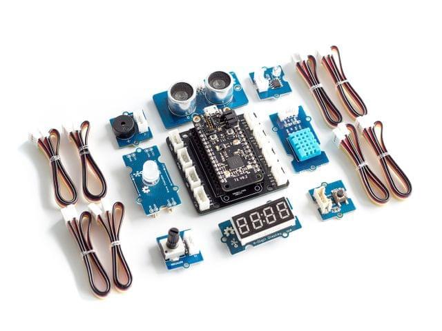 Grove Starter Kit for Particle Mesh
