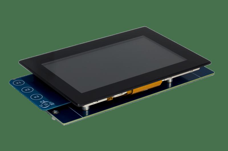 "Microchip Technology AC320005-5 5.0"" WQVGA Display Module"