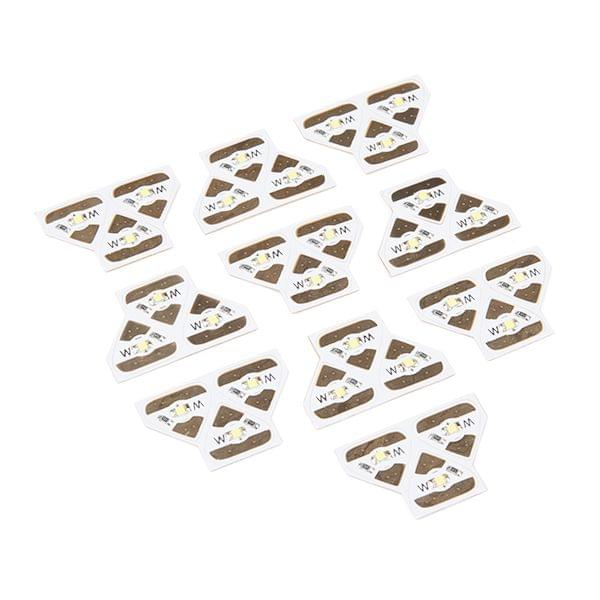 Chibitronics White LED MegaPack (30 Stickers)