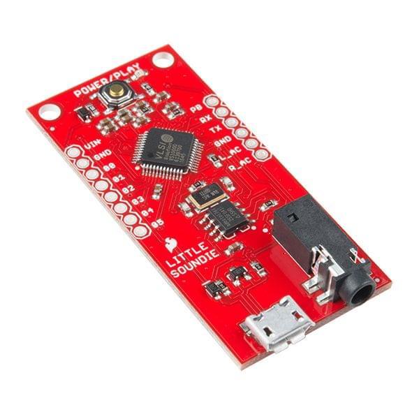SparkFun Little Soundie Audio Player