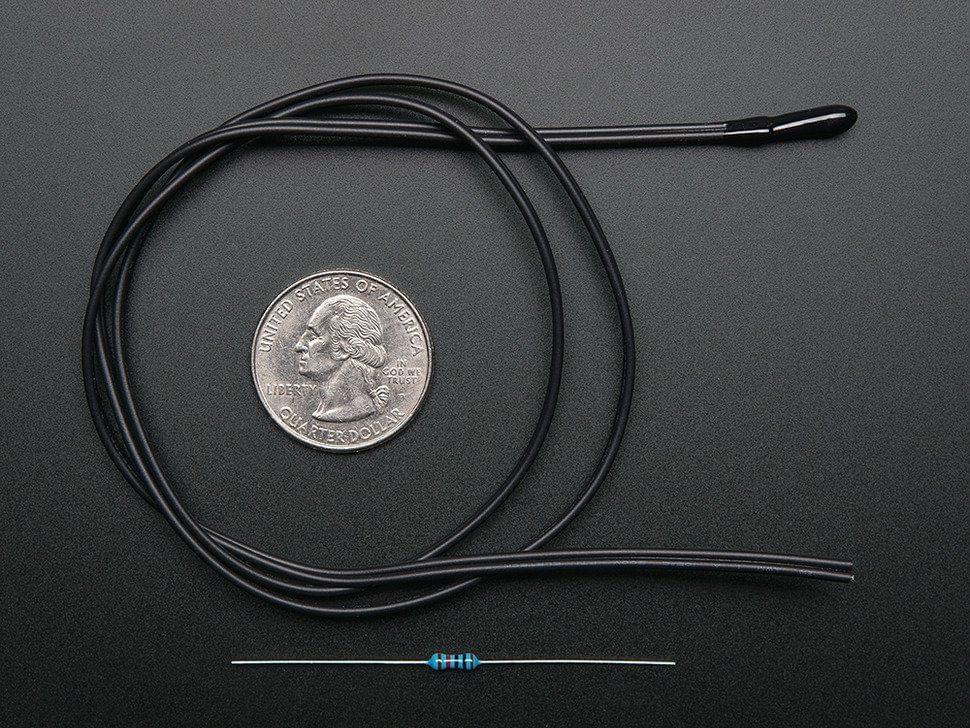 10K Precision Epoxy Thermistor - 3950 NTC