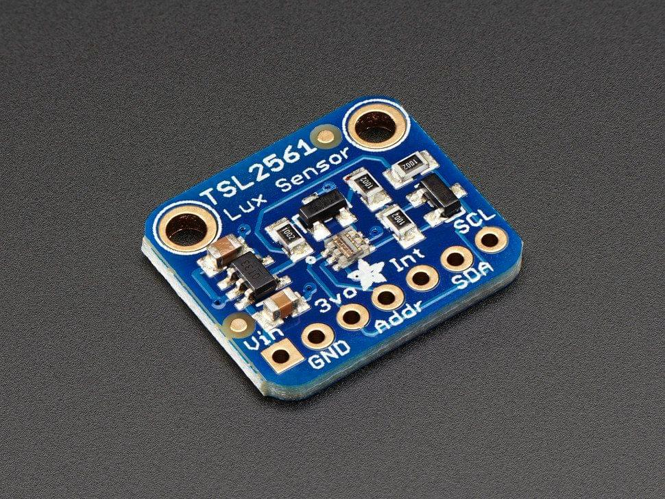 Adafruit TSL2561 Digital Luminosity/Lux/Light Sensor Breakout