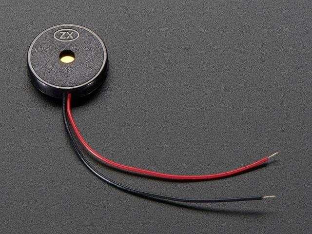 Small Enclosed Piezo w/Wires