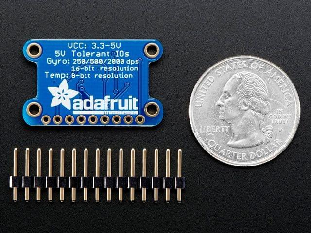 L3GD20H Triple-Axis Gyro Breakout Board - L3GD20/L3G4200 Upgrade - L3GD20H