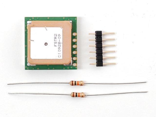 UP501 Breadboard-friendly 66 channel GPS module w/10 Hz updates - MTK3329