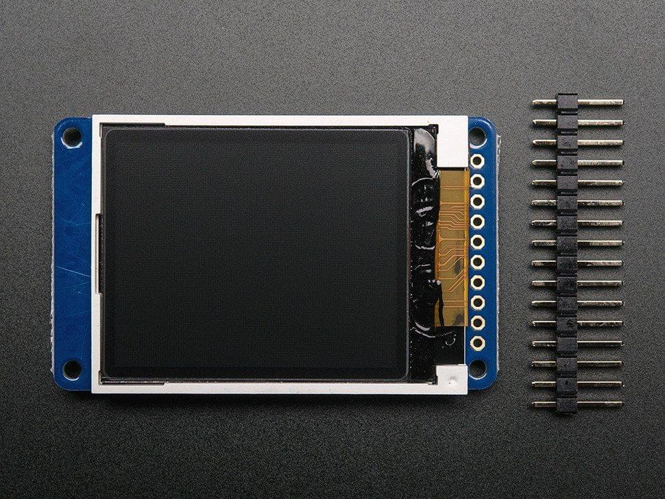"""1.8"""" Color TFT LCD display with MicroSD Card Breakout - ST7735R"""