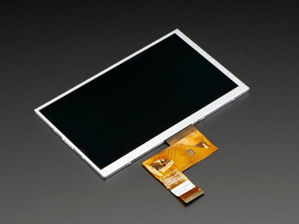 """7.0"""" 40-pin TFT Display - 800x480 without Touchscreen"""