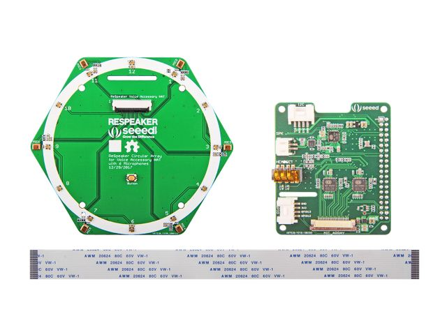 ReSpeaker 6-Mic Circular Array Kit for Raspberry Pi