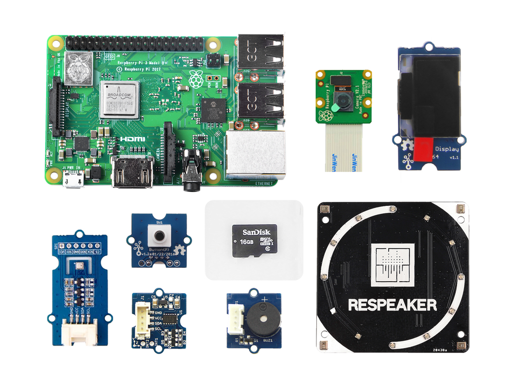 Grove Starter Kit for Azure IoT Edge