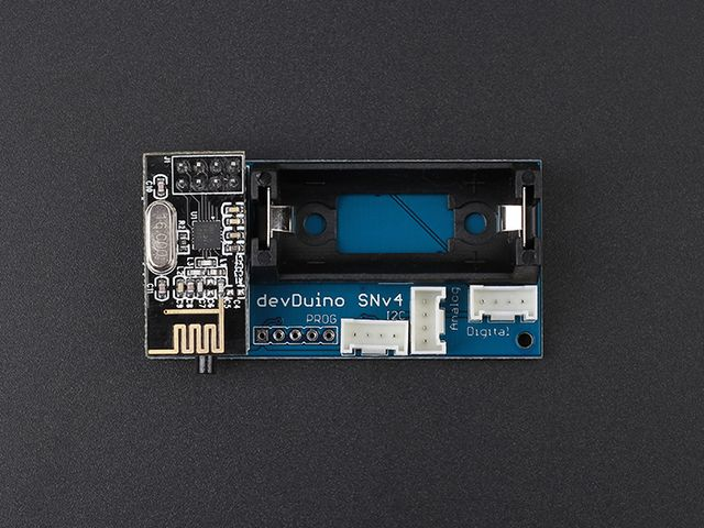 devDuino Sensor Node V4 (ATmega 328) - Integrated temperature & humidity sensor