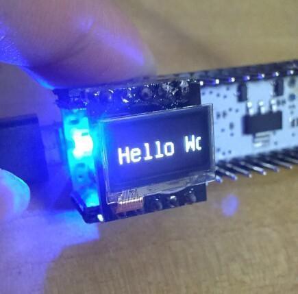 0.5 Inch OLED display Arduino shield