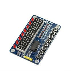 TM1638 8 Bit Button LED Segment Digital Control