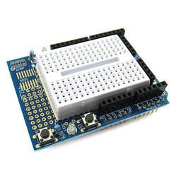 Prototype Shield with Breadboard for Arduino UNO