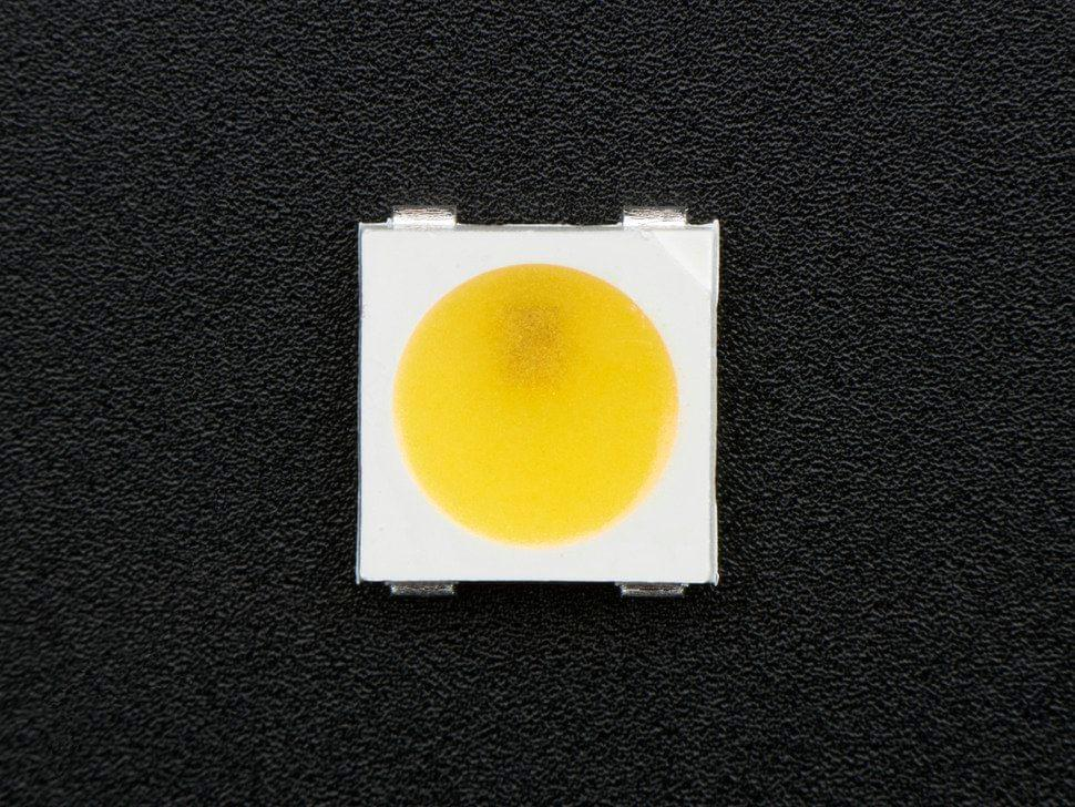 NeoPixel Warm White LED w/ Integrated Driver Chip