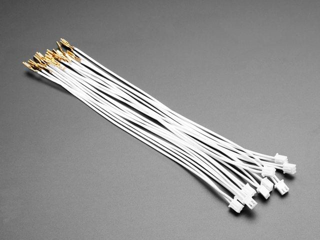 """Arcade Button Quick-Connect Wire Pairs - 0.11"""" (10 pack)"""