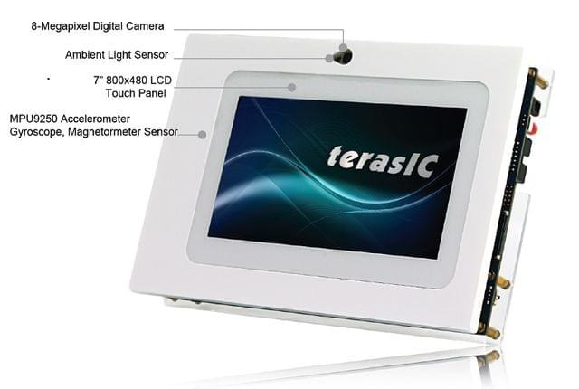 Cyclone IV Device Family Video and Embedded Evaluation Kit - Multi-touch 2, Second Edition (VEEK-MT2) From Terasic Inc.