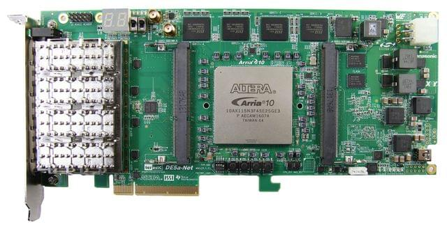 Stratix V GX Device Family - DE5-Net FPGA Development Kit From Terasic Inc.