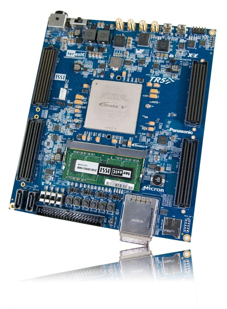 Stratix V GX Device Family - TR5 FPGA Development Kit From Terasic Inc.