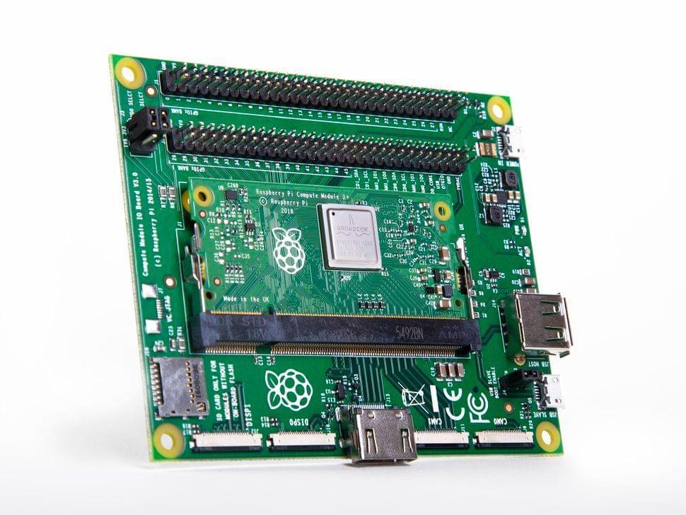 Raspberry Pi Compute Module 3+ Dev Kit
