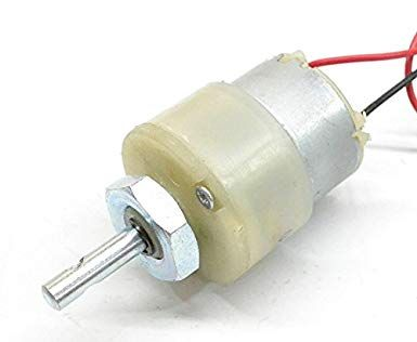 300 RPM - 12V Centre Shaft DC Geared Motor