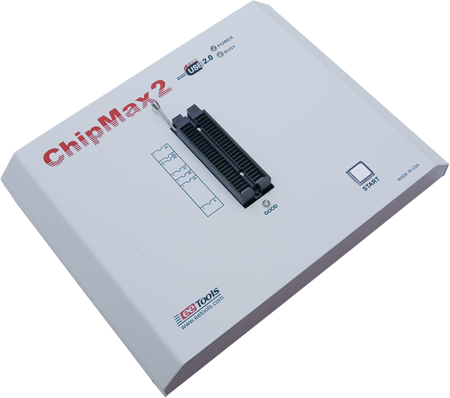 CHIPMAX2  UNIVERSAL DEVICE PROGRAMMER FOR PC/USB