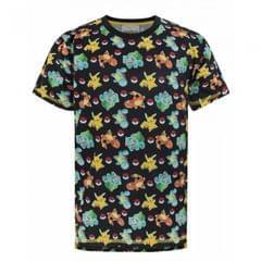 Pokemon Jungen Starter Charakter Sublimation T-Shirt