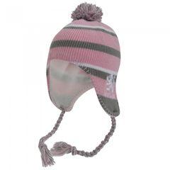 Mädchen Schottland Thermo Winter Mütze mit Bommeln