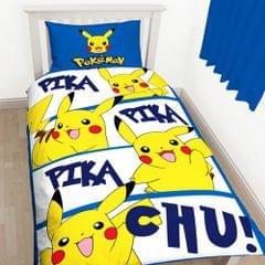 Pokemon Kinder Pikachu Wende Bettwäsche Set
