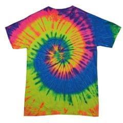Colortone Kinder Batik-T-Shirt Regenbogen