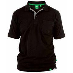 Dunke Herren D555 Grant Kingsize Pique Polo Shirt
