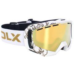 Trespass Goldeneye DLX Erwachsenen Unisex Ski Brille mit gespiegeltem Glas