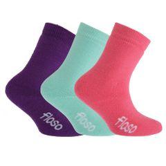 FLOSO Kinder Winter Thermo Socken (3-er Pack)