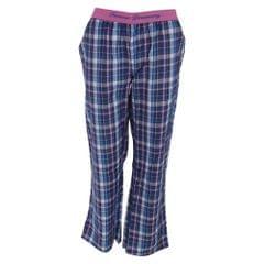 Forever Dreaming Damen Karo Schlafanzug Hose