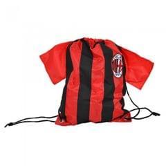 Turnbeutel in Trikot-Form mit AC Milan Design