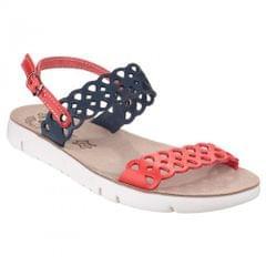 Fantasy Damen Piperi perforierte Sandale